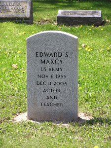 Ed Maxcy Grave Marker