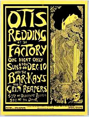 Otis Redding Factory Poster