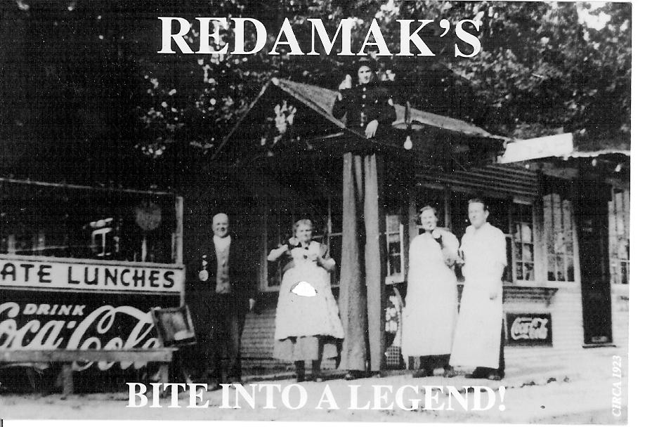 Postcard from Redamak's in New Buffalo, Michigan
